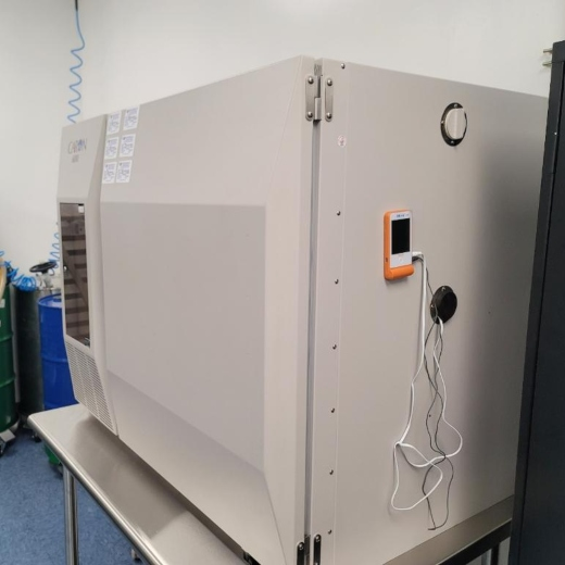 photo shows a sample of a Stability Chamber.